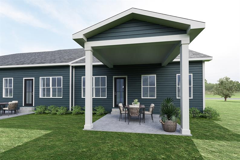 LAWN & EXTERIOR MAINTENANCE INCLUDED + OPTIONS FOR COVERED PATIO
