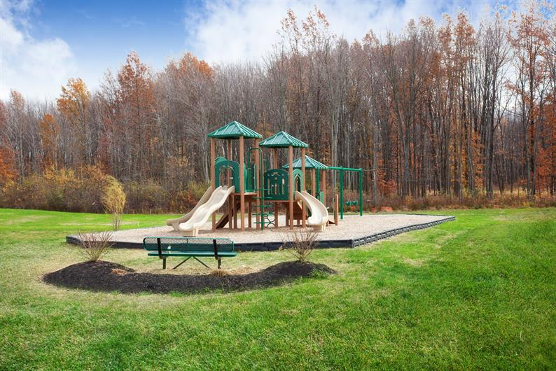 OUTDOOR FUN IS INCLUDED AT THE CRANBERRY CREEK PLAYGROUND