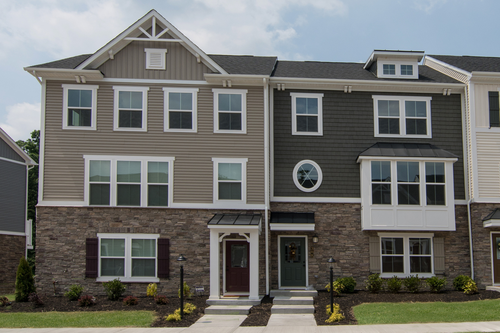 New Wexford Townhome Model for sale at Park Place Townhomes in ...