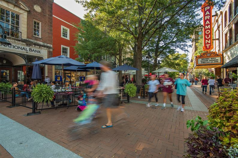 Shopping, Dining & Recreation Galore