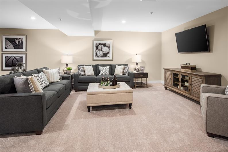 INCLUDED FINISHED BASEMENT