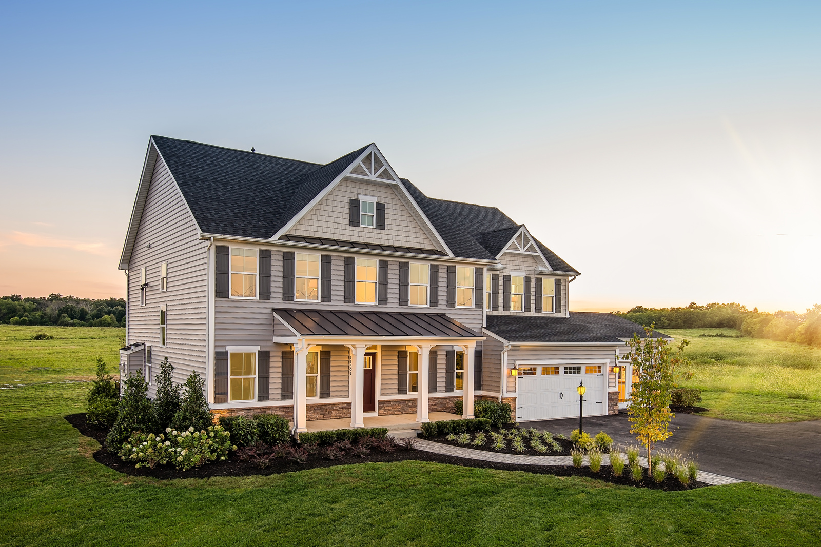 New Homes For Sale At Bradford Walk At Buck Hill Farm In West