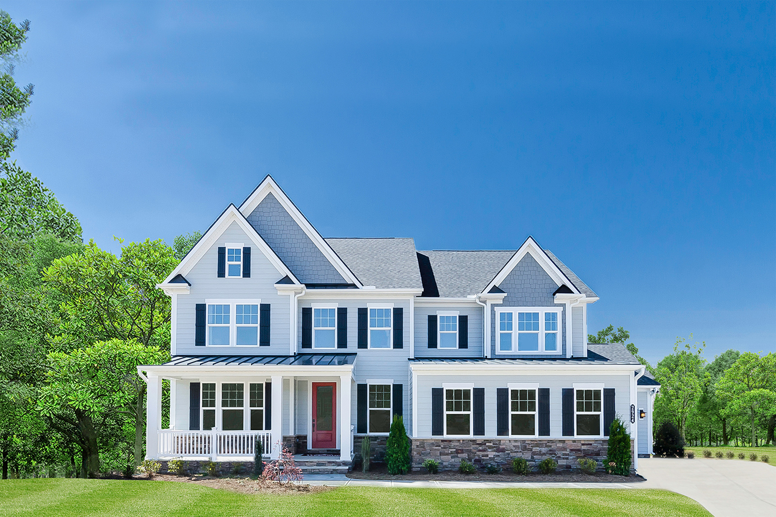 New Luxury Hamptons in Hampton Township PA within the