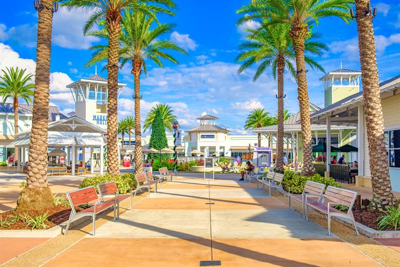 Minutes from Tampa Premium Outlet Mall