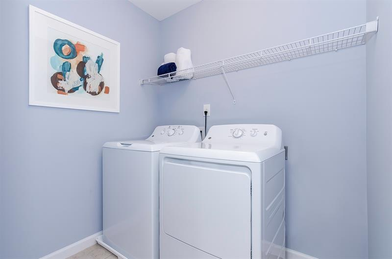All of your appliances are included - even the washer and dryer!