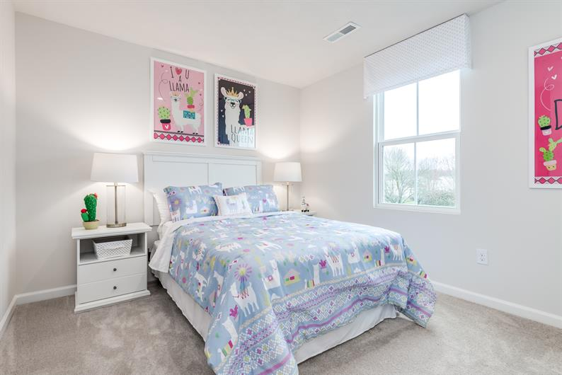 Everyone has their own space with up to 5 bedrooms