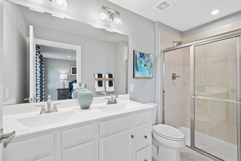 Smart Designed Private Owner's Bathroom