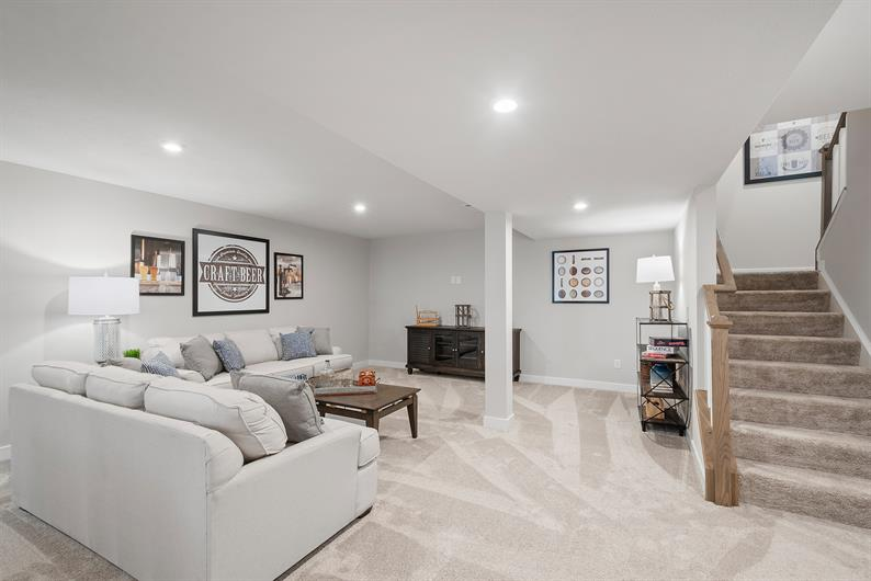 FINISHED BASEMENT IS INCLUDED