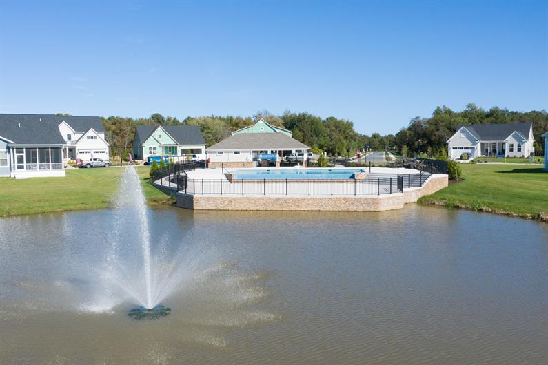 Waterfront Infinity Pool
