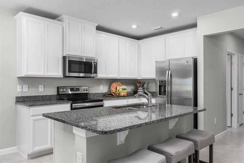 Avalon Crossing Villas feature SPACIOUS, MODERN KITCHENS