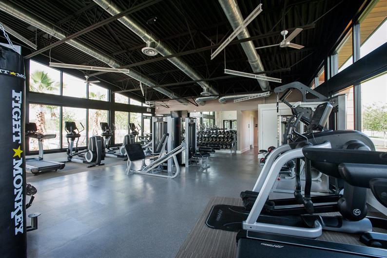Fitness Center? Yes, We've Got That!