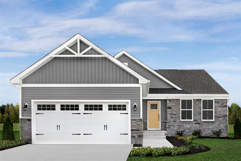 Gristmill Villas: New Detached Ranch Homes in Westfield