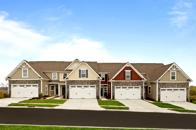 Welcome to the only new townhome community in liberty township with easy living!