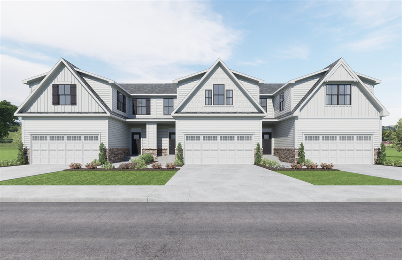 SMALL ENCLAVE OF 48 MODERN TOWNHOMES FROM MID $300's