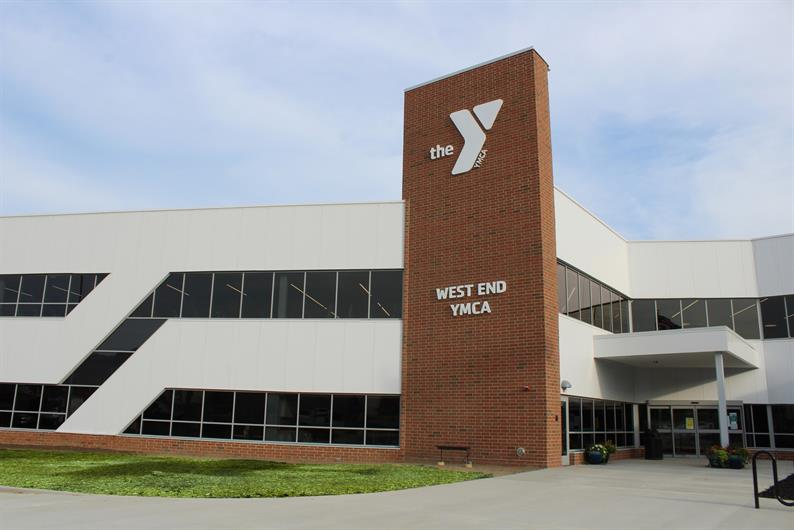 WORKOUT AROUND THE CORNER AT THE LAKE COUNTY YMCA WEST END