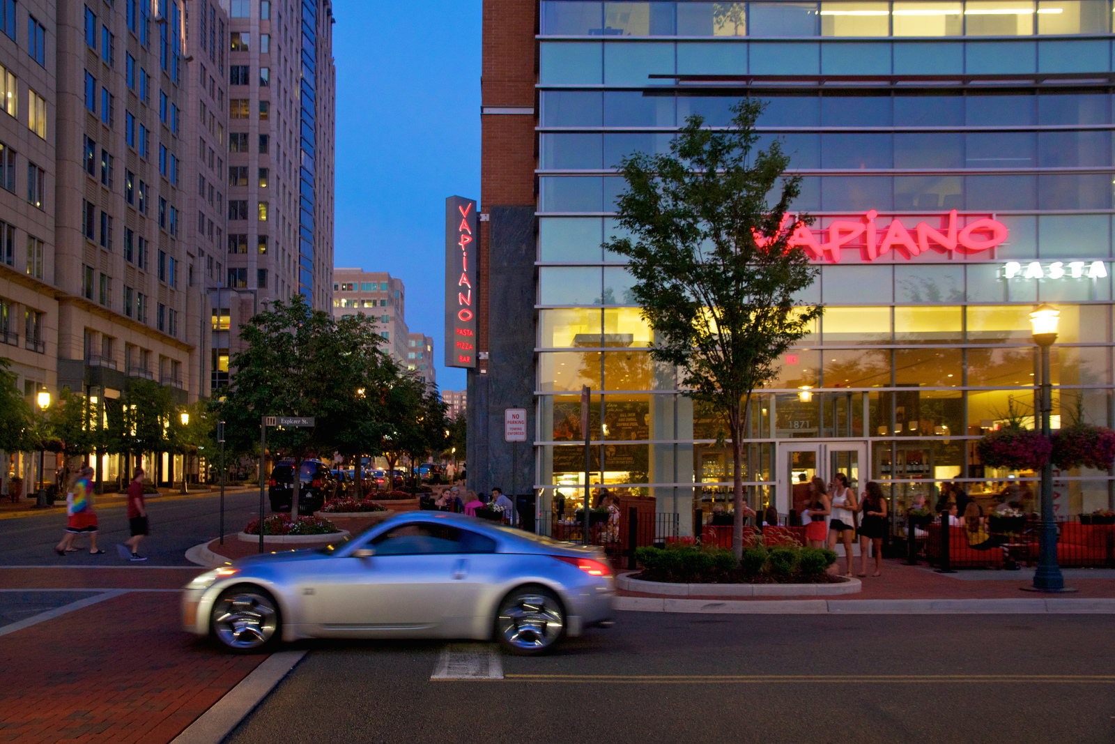 Enjoy high-end dining and shopping at the Reston Town Center which is just a ten minute drive away from Westmoore.