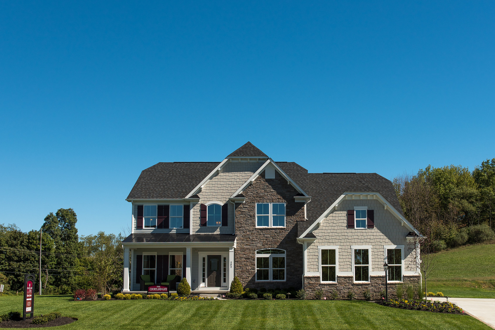 New courtland gate home model for sale heartland homes for Heartland builders