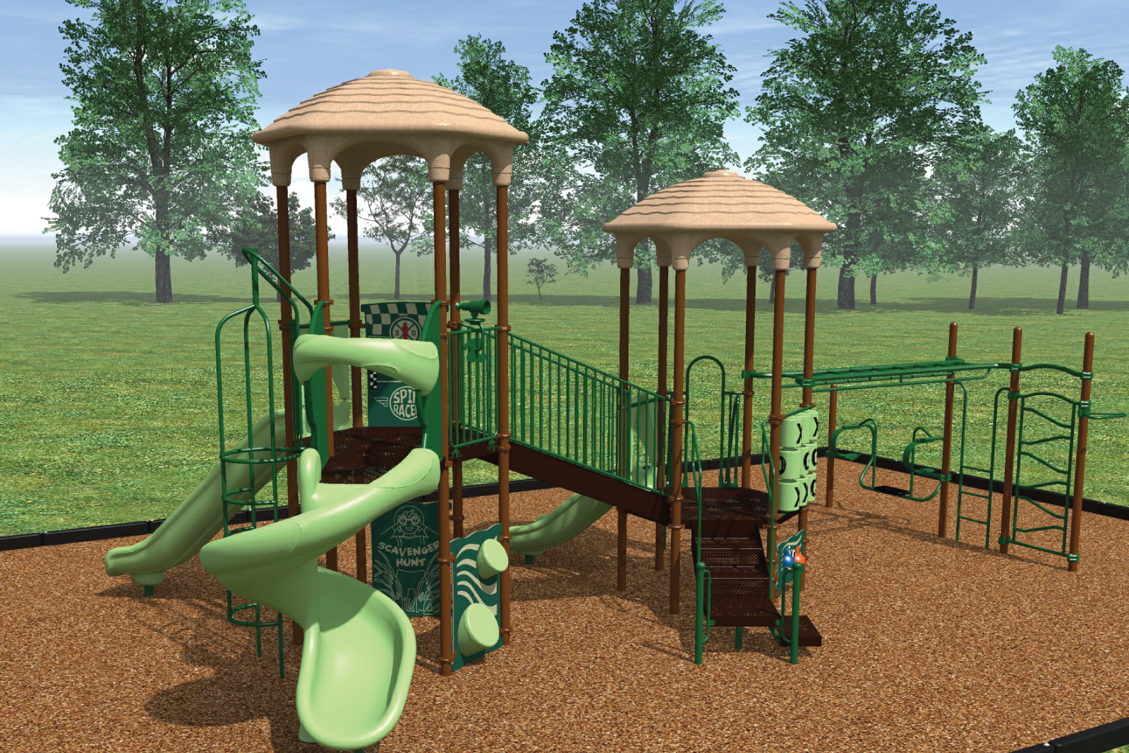 The kids will enjoy their time at a favorite community amenity–the tot lot!