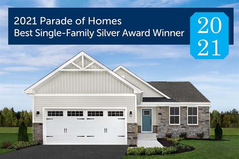 2021 Parade of Homes Best Single-Family Award