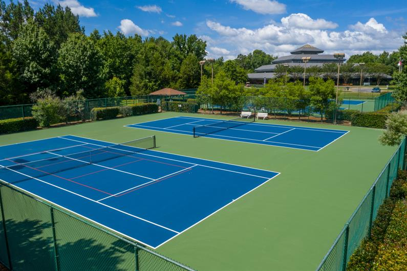 Play a Game of Tennis with Friends