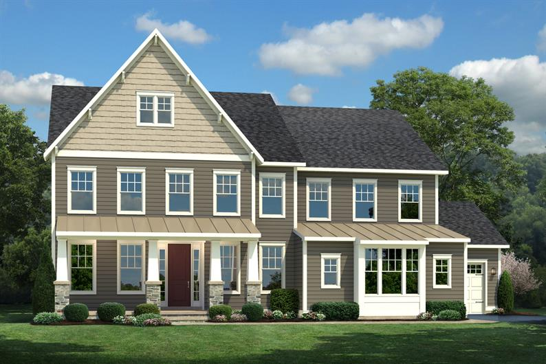 Marymount at Willowsford - Elevation K - 06-16
