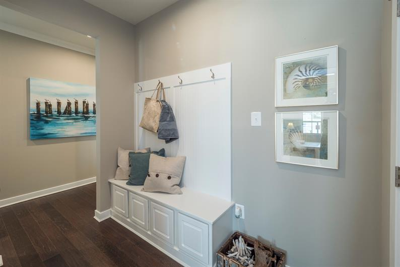 Arrival Center & Coat Closet