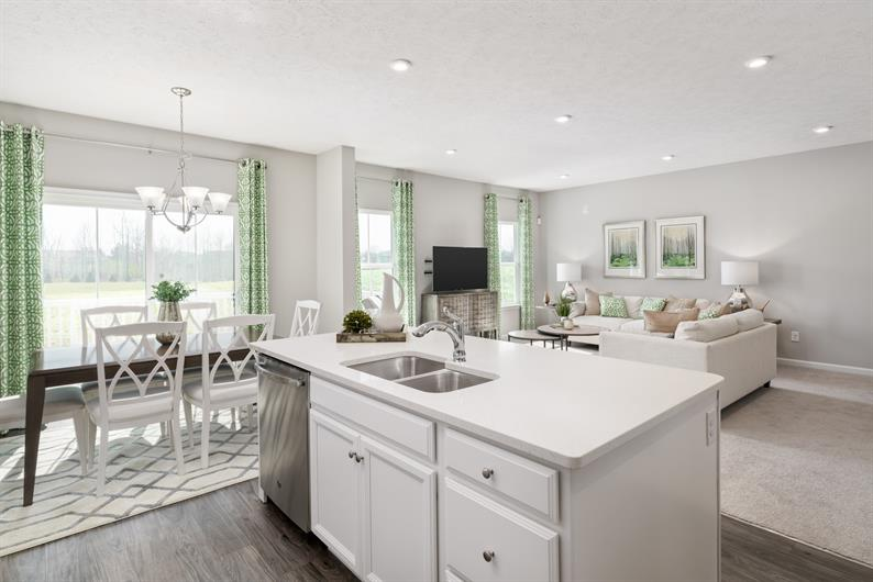 Spend more time in your spacious great room - Low maintenance living included
