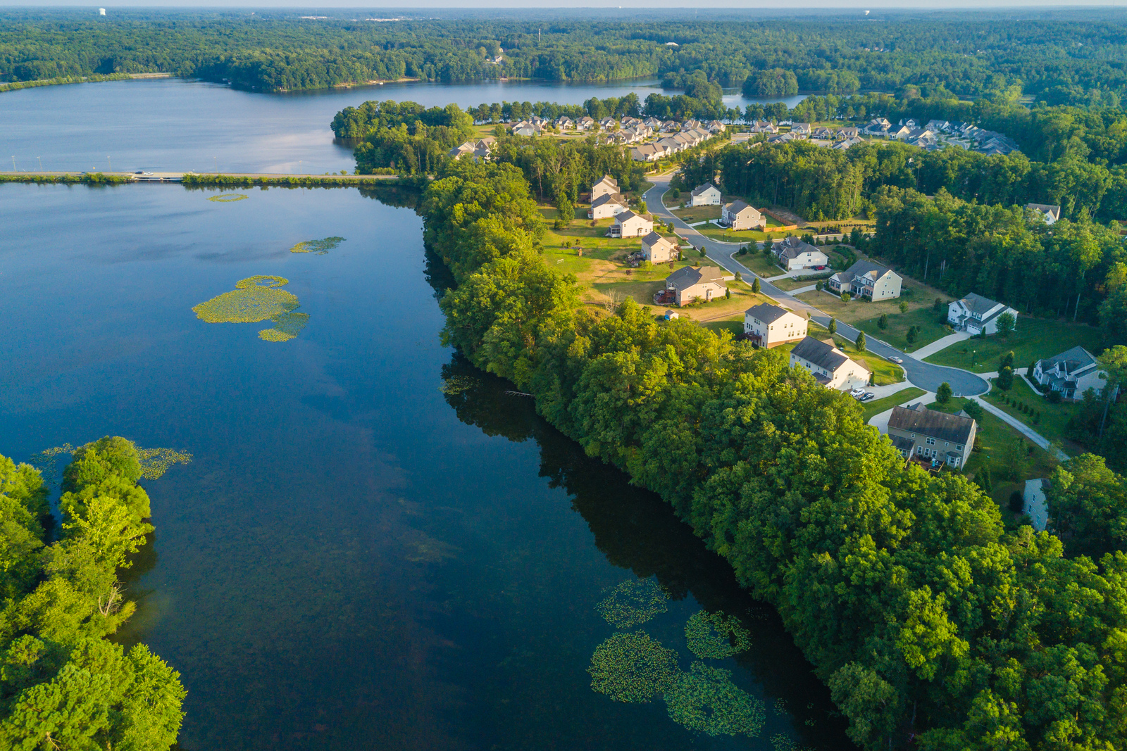 The Best Swift Creek Reservoir access community in Cosby HS district. Our new section offers waterfront homesites starting from the 340's. Schedule a visit today!