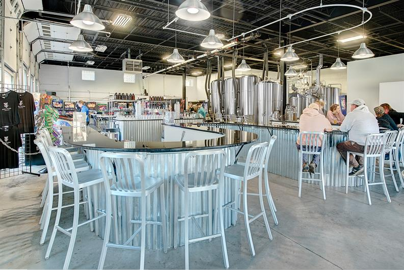 Catch up with friends at Helicon Brewery