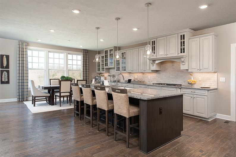Gourmet Kitchens Included