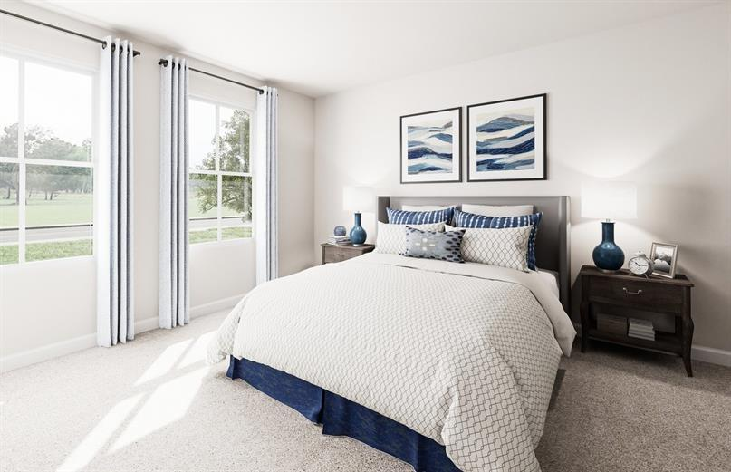 NEW FLOORPLANS MEANS LARGER SECONDARY BEDROOMS