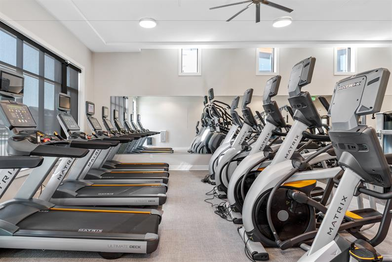 Fitness Center Included