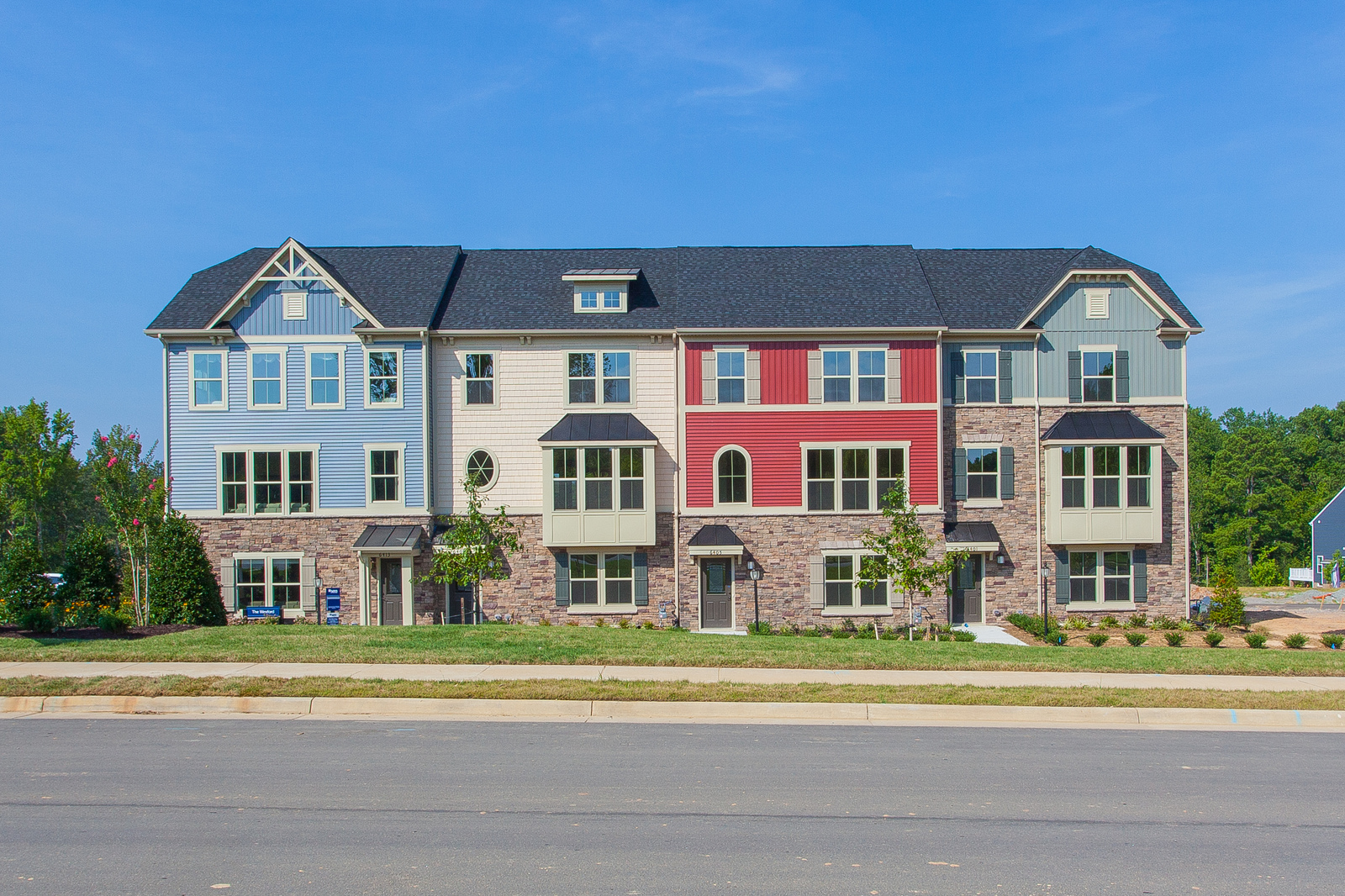 New Wexford Townhome Model for sale at The Overlook At Southpointe ...