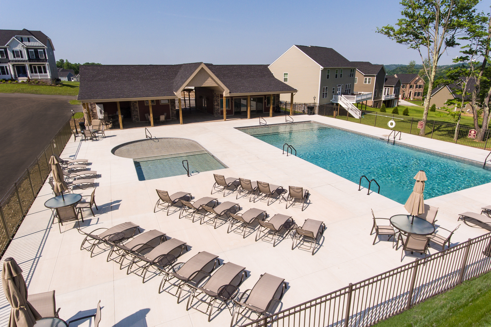 Schedule a tour of this beautiful community, featuring a pool and clubhouse, today!
