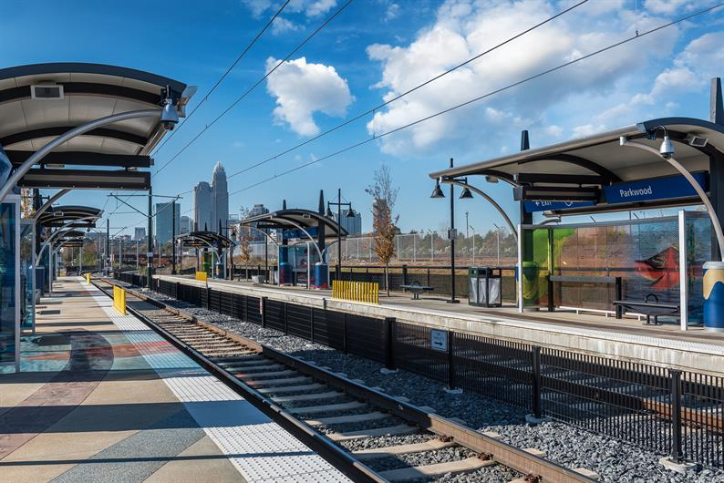 You'll Be Steps Away from the Parkwood Light Rail Stop
