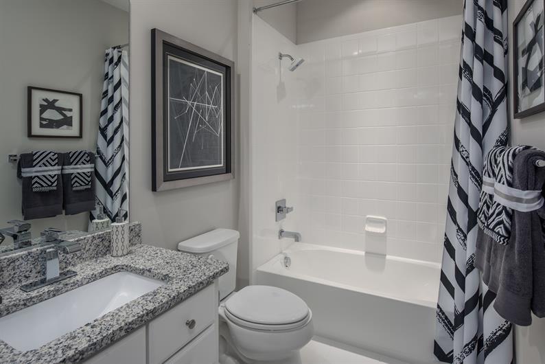 Elegant Secondary Bathrooms