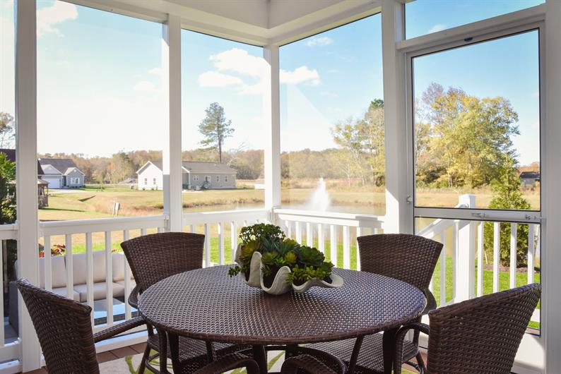 Wooded and pond view homesites available