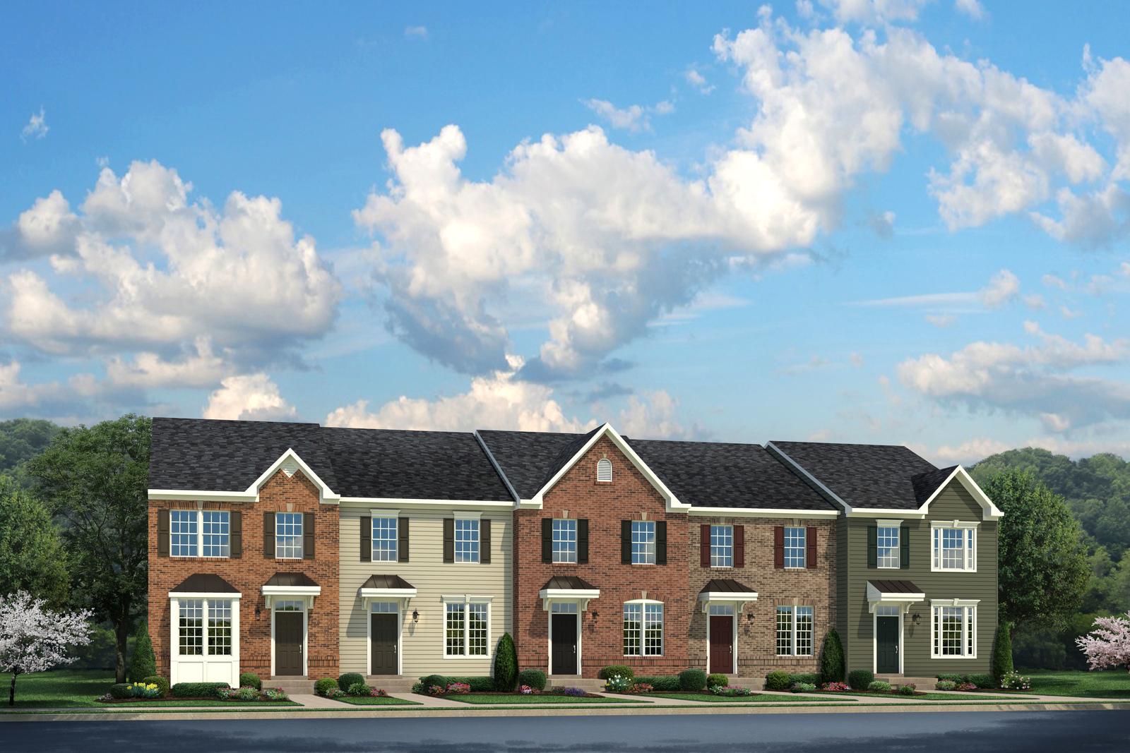 Beethoven 2 Level at Village at Candle Station Townhomes