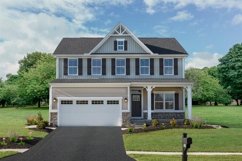A New Home on a Spacious Homesite Built Just For You