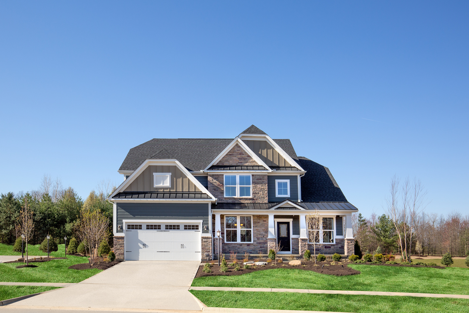 New homes for sale at dover highlands in medina oh within for Ohio homebuilders