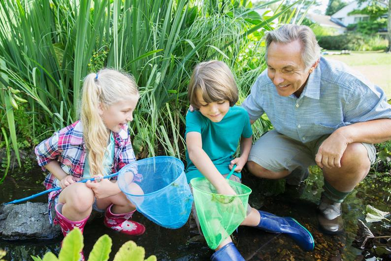 SAY GOODBYE TO LAWN MAINTENANCE AND HELLO TO MORE TIME WITH THE GRANDKIDS