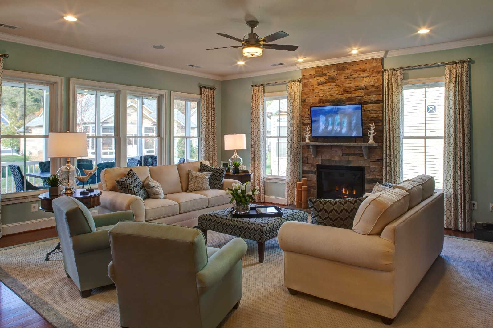 Seabrook Family Room