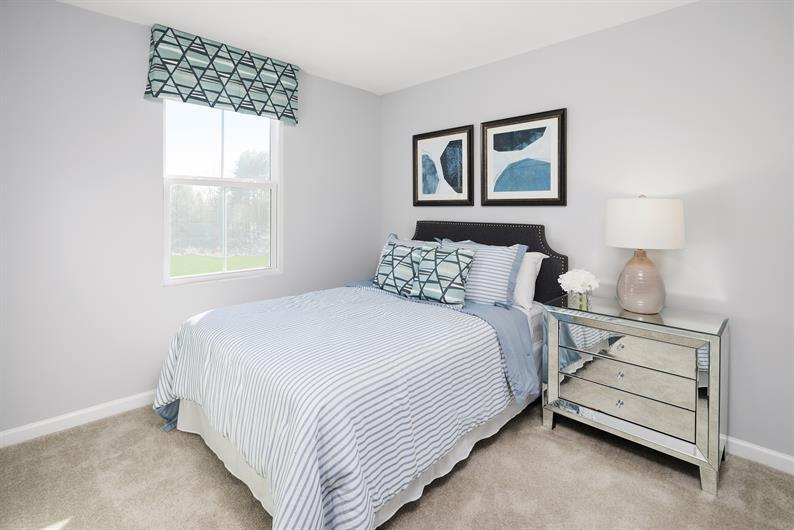 Extra bedrooms or flex spaces