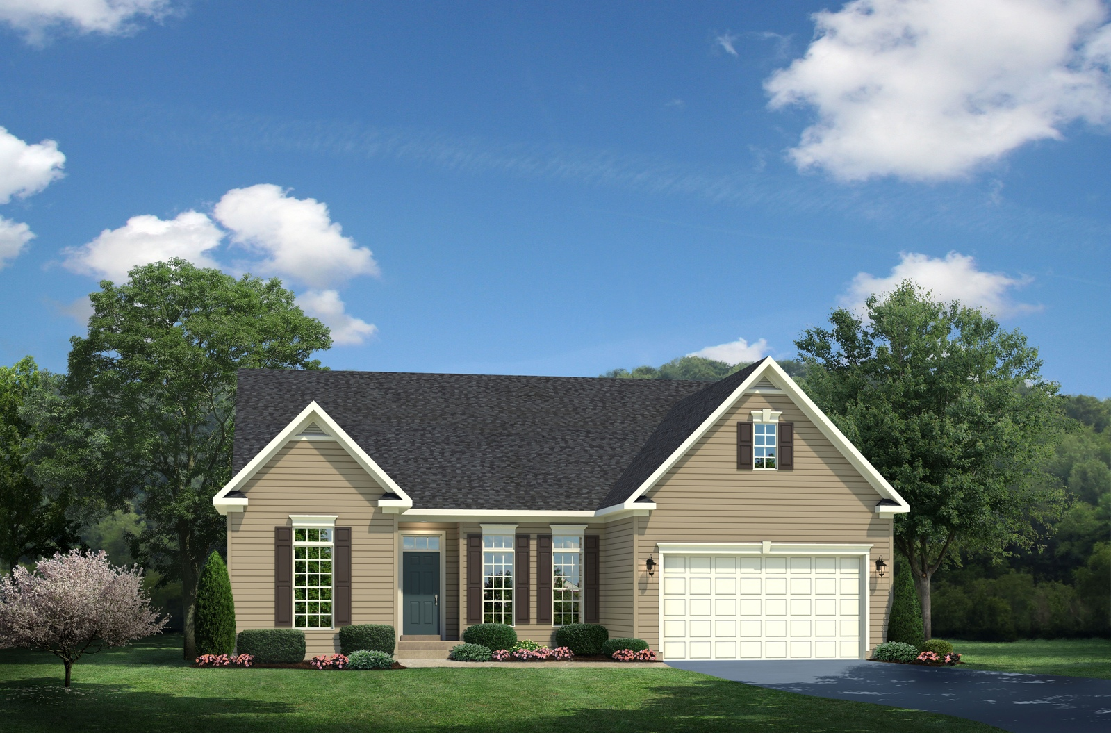 New springmanor home model for sale at marbury for Db ranch