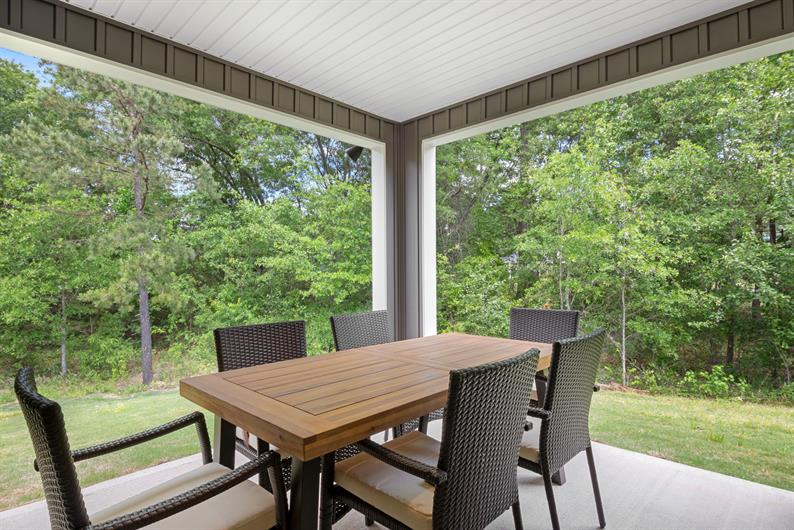 Extend your entertaining with an outdoor covered porch