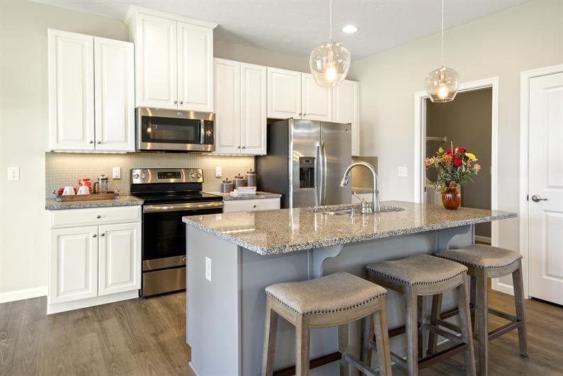 Thoughtfully-designed kitchen