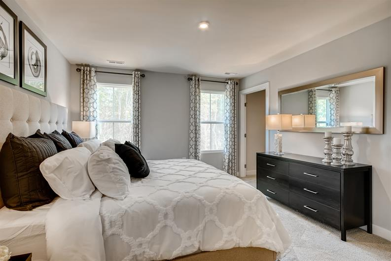 First floor owner's suite with laundry just steps away