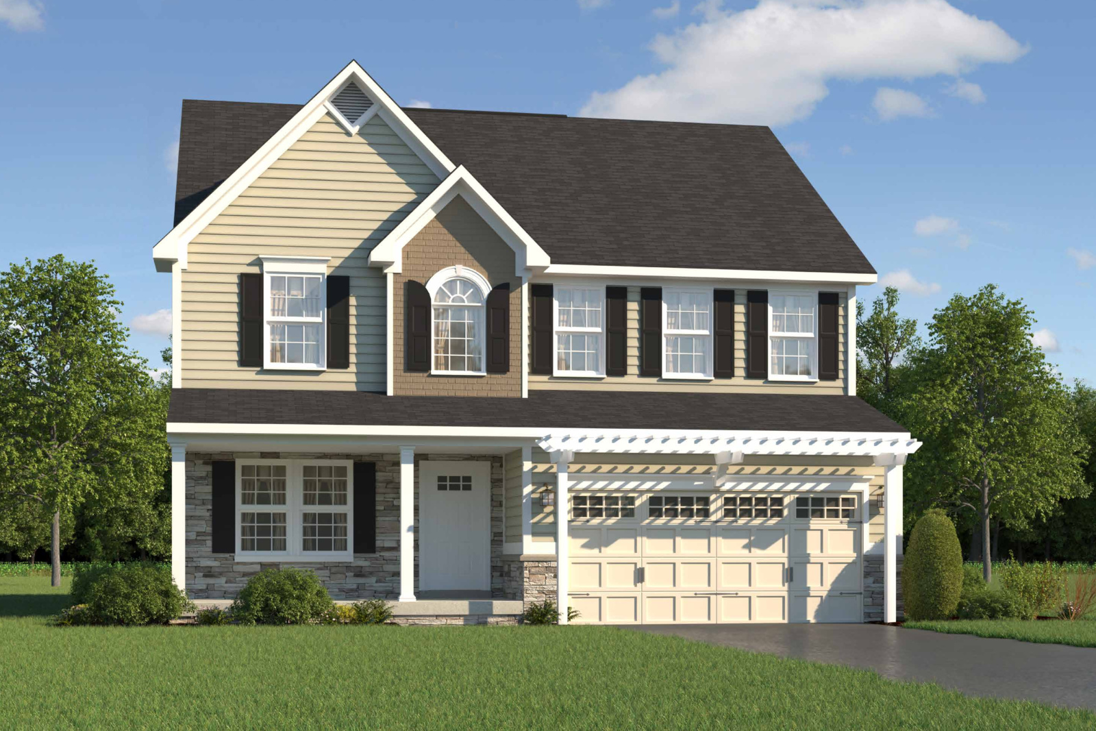 New homes for sale at madison farms single family homes in for Modern single family homes