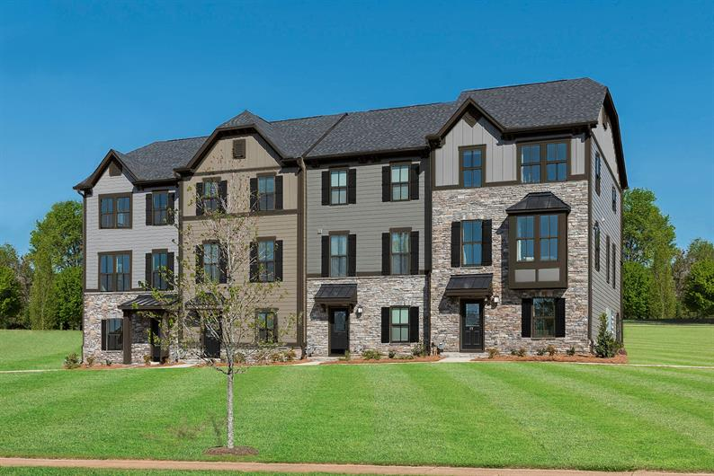 Own a new townhome for the same as rent