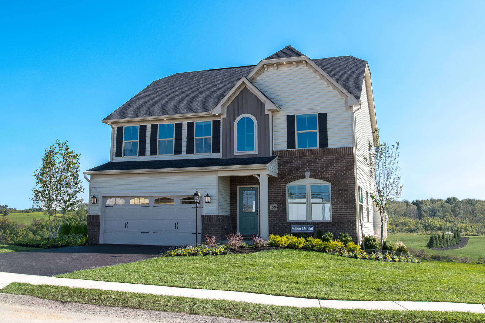 New homes for sale at liberty ledges in reminderville oh for Liberty home builders